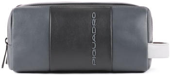Piquadro Beauty basico in pelle Urban grey/black