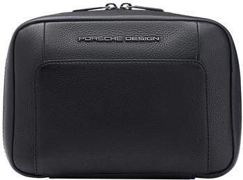 Porsche Design Roadster Leather Washbag black