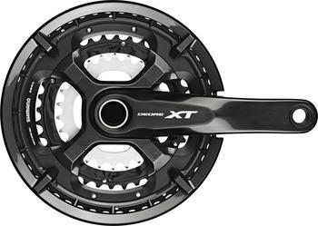 Shimano Deore XT Trekking FC-T8000 Crankset 10-fach 48-36-26T black 175mm