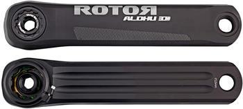 Rotor Aldhu Crankarm black/matt 165mm