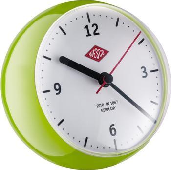 Wesco 322411-20 Mini Clock limegreen