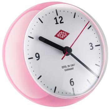 Wesco 322411-26 Mini Clock pink