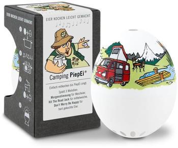 Brainstream PiepEi Camping Eieruhr Eiertimer für 3 Härtegrade weis A005159
