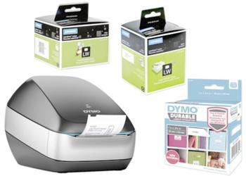 Dymo LabelWriter Wireless schwarz Vorteilspack