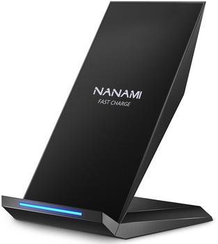 NANAMI M220 Fast Wireless Charger Qi schwarz