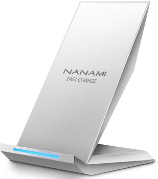 NANAMI M220 Fast Wireless Charger Qi silber