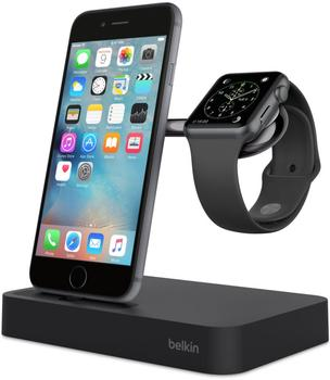Belkin Ladestation Valet (Apple Watch & iPhone) schwarz