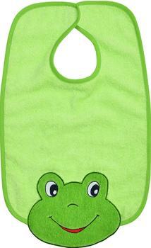 Wörner Riesen-Klettlatz Frosch grün frottiergewebe (5671027)