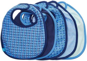 Lässig Lätzchen Value Pack 5 Stk. patterned boys blau