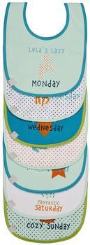 Lässig Lätzchen Weekdays Lela 7er Pack mehrfarbig (5853850)