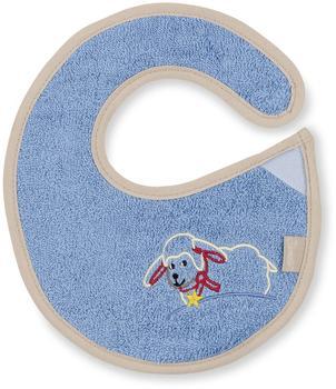 Sterntaler Frottee-Klettlätzchen Stanley blau