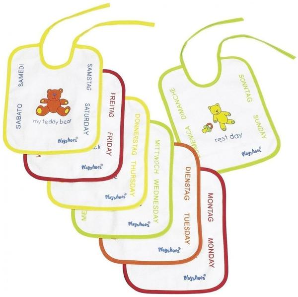 Playshoes Bindelätzchen-Set 7-Teilig bunt