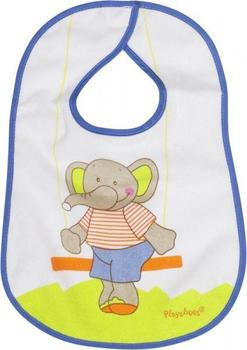 Playshoes Frottee-Klettlätzchen Elefant bunt