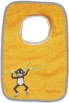 Playshoes Schlupf-Lätzchen Affe gelb