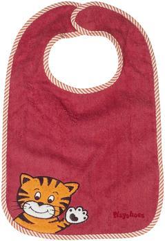 Playshoes Klett-Lätzchen XL Tiger rot