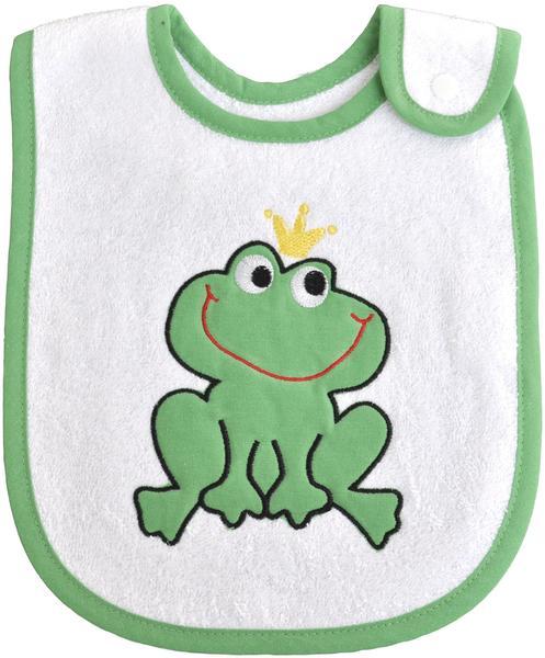 Smithy Lätzchen Mit Froschkönig weiß/grün