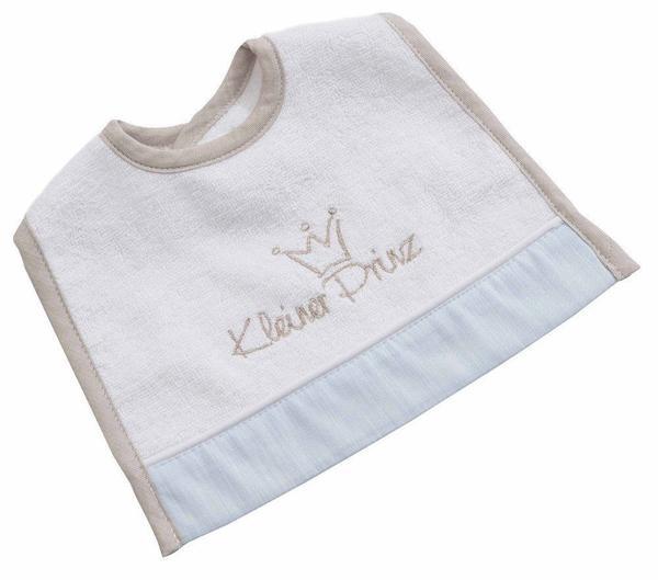 Be Be's Collection Mini-Klett Lätzchen Kleiner Prinz weiß