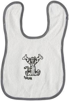 bébé-jou Lätzchen mit Klettverschluss Disney Tigger weiß