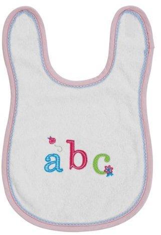 bébé-jou Lätzchen mit Klettverschluss hellrose