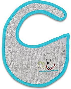Sterntaler Baby-Plastik-Klettlätzchen Waschbär Wilbur (7001402-524)