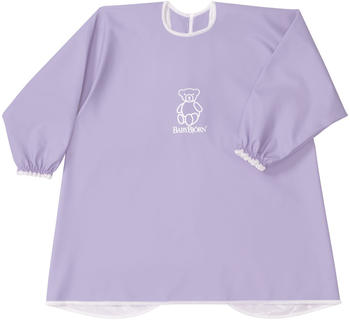 Babybjörn Long Sleeve Bib Purple