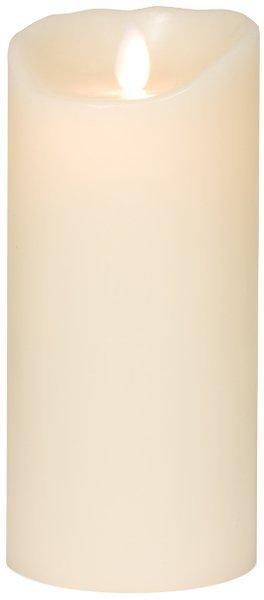Sompex LED-Echtwachskerze Flame elfenbein (8 x 18 cm)