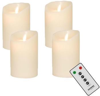 Sompex Flame LED (Set) ivory