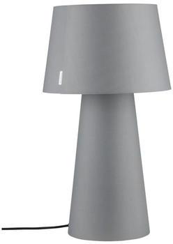 Paulmann Kelt 1-flammig mit Stoffschirm und Fuß grau (797.35)