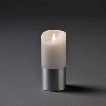 Konstsmide LED-Echtwachskerze weiß (1822-300)
