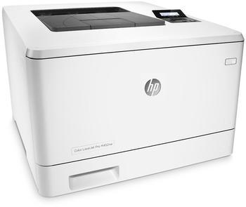 Testbericht Hewlett-Packard HP Color LaserJet Pro M452nw (CF388A)
