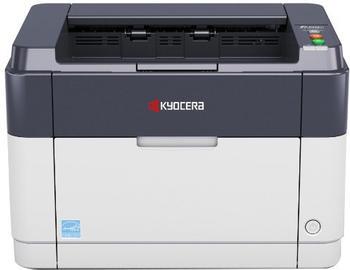 KYOCERA FS-1061DN Laserdrucker grau/anthrazit, USB, LAN