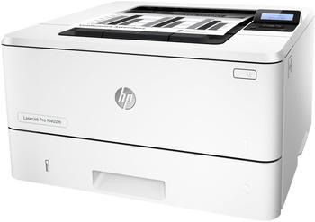 HP LaserJet Pro M402m - Drucker - monochrom - Duplex - Laser - A4/Legal - 4800 x 600 dpi - bis zu 40 Seiten/Min. - Kapazität: 350 Blätter - USB 2.0, Gigabit LAN, Wi-Fi(n), NFC (C5F96A#B19)