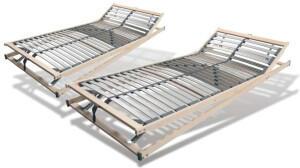 Benninger Bettsysteme Benninger Extra stabiler Lattenrost 28 Leisten 90x200cm verstellbarer Kopf-/Fußbereich