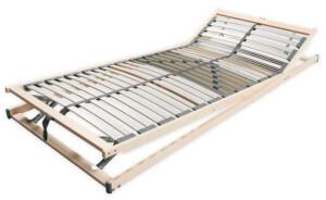 Benninger Bettsysteme Benninger Extra stabiler Lattenrost 28 Leisten 80x200cm verstellbarer Kopf-/Fußbereich