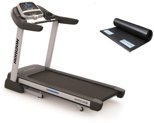 Horizon Fitness Laufband Adventure 5 Viewfit inkl. Unterlegmatte