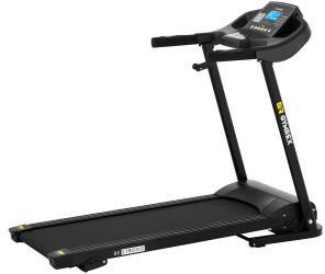 Gymrex Laufband elektrisch klappbar 1200 W 1-12 km/h 120 kg 3 Steigungsstufen LCD