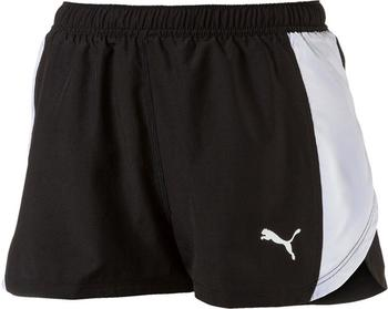 Puma Running Damen Cross The Line Shorts black