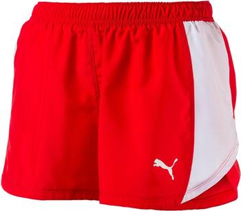 Puma Running Damen Cross The Line Shorts red