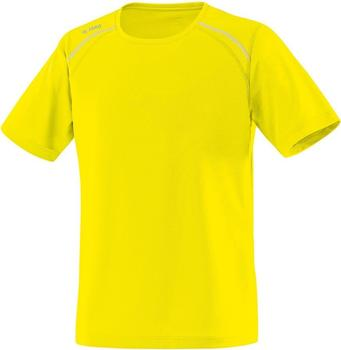 JAKO Damen T-Shirt Run neongelb