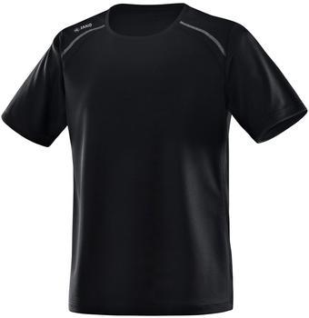 JAKO Herren T-Shirt Run schwarz
