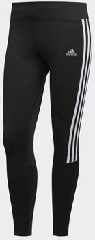 Adidas Running 3 Stripes Tight Women black / white