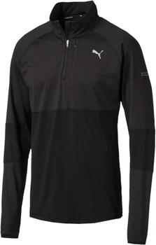Puma Men Run HalfZip Top puma black heather-black