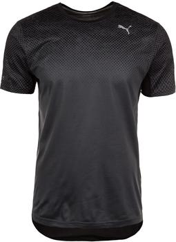 Puma Running Men Graphic T-Shirt puma black-asphalt