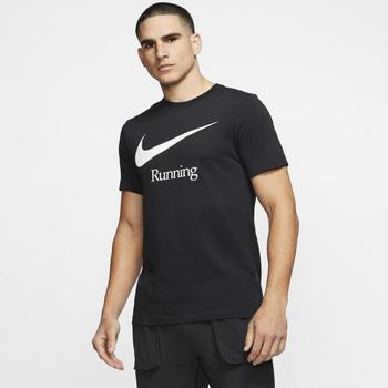 Nike Dri FIT Laufshirt Herren schwarz (CK0637-010)