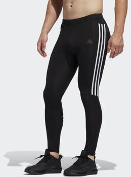 Adidas Run It 3-Streifen Tight black / white Männer (ED9295)