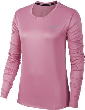 Nike NK Miler Top LS Women (aj8128) rosa