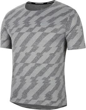 Nike Miler Future Fast Running Shirt (CU5457) black/grey fog/reflective silver