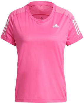 Adidas Women Running Own the Run Tee (GJ9986) screaming pink