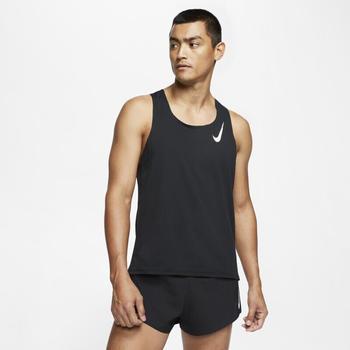 Nike AeroSwift Laufshirt (CJ7835-010) schwarz