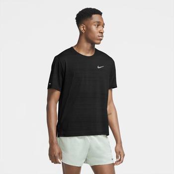 Nike Dri-FIT Miler Laufshirt (CU5992-010) schwarz